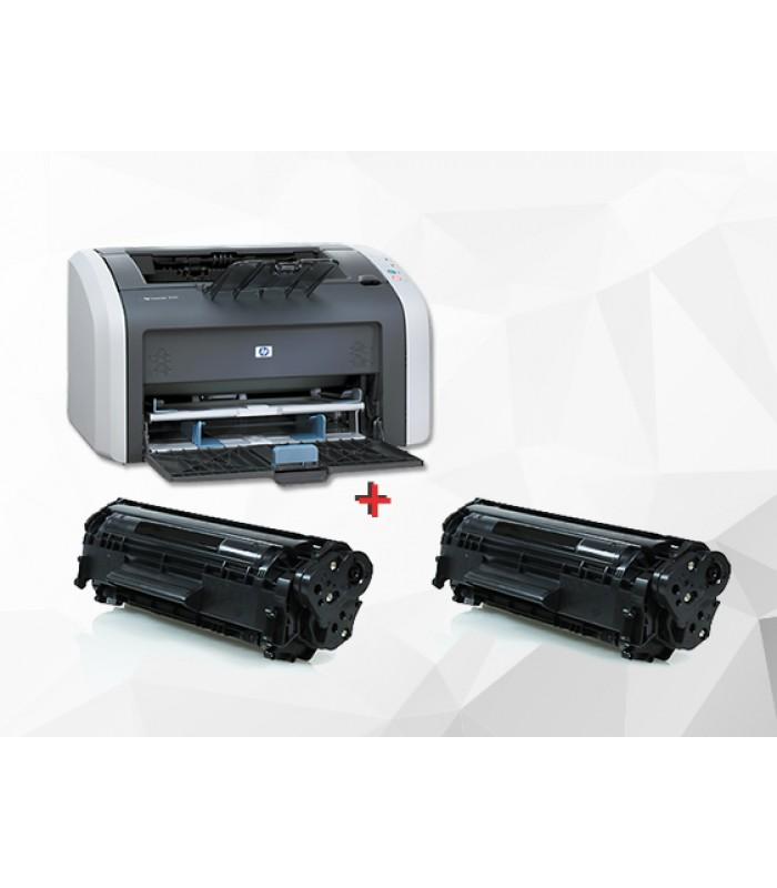 ПРОМО! Принтер HP LASERJET 1010 с две тонер касети 2612А /2 х 2000 копия/