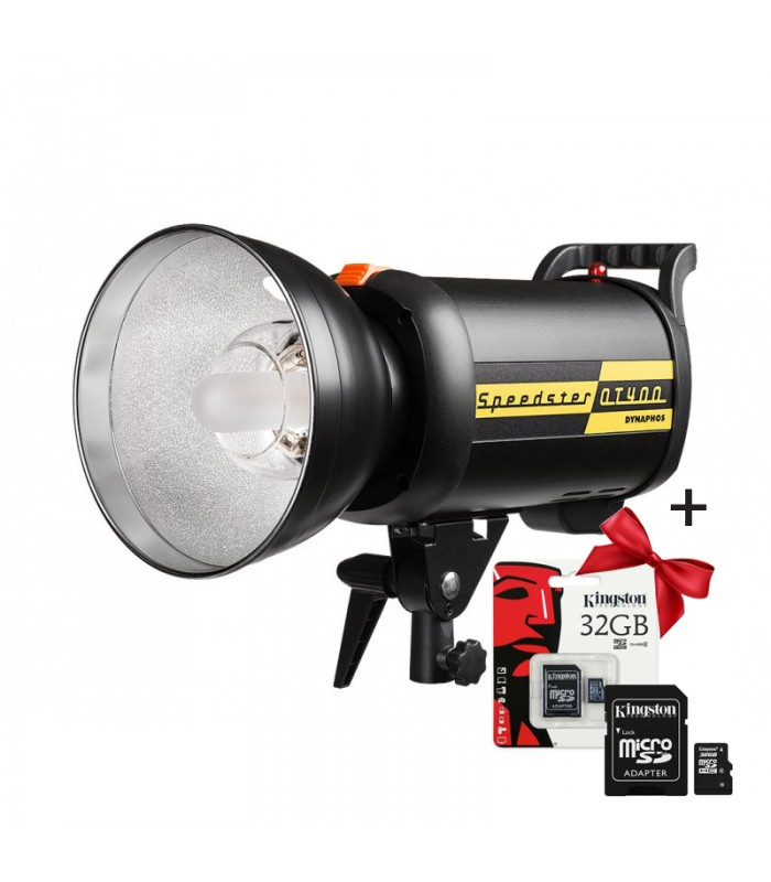 Студийна светкавица SPEEDSTER 400QT + ПОДАРЪК Микро SD карта KINGSTON 32GB