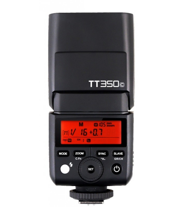 Компактна светкавица GODOX TT350C за CANON