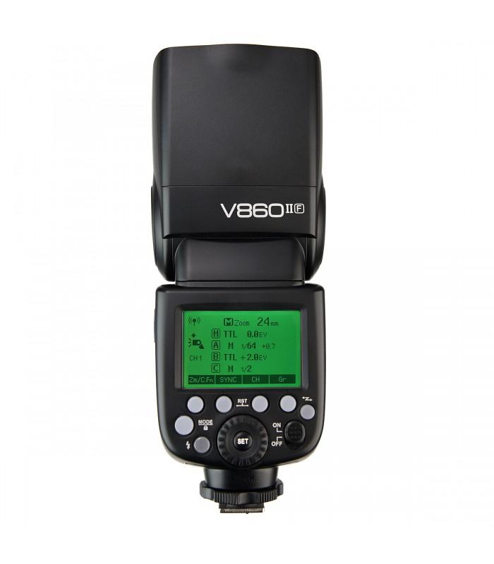 Светкавица GODOX V860IIC CANON E-TTL, GODOX 2.4G WIRELESS X SYSTEM