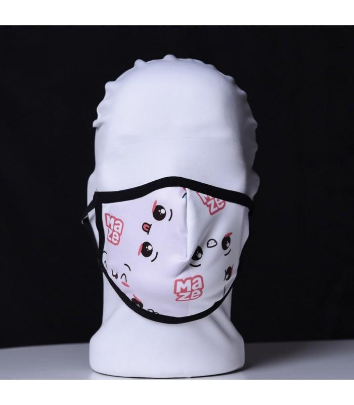 Висококачествена дизайнерска детска трипластова защитна маска за многократна употреба CUPCAKE