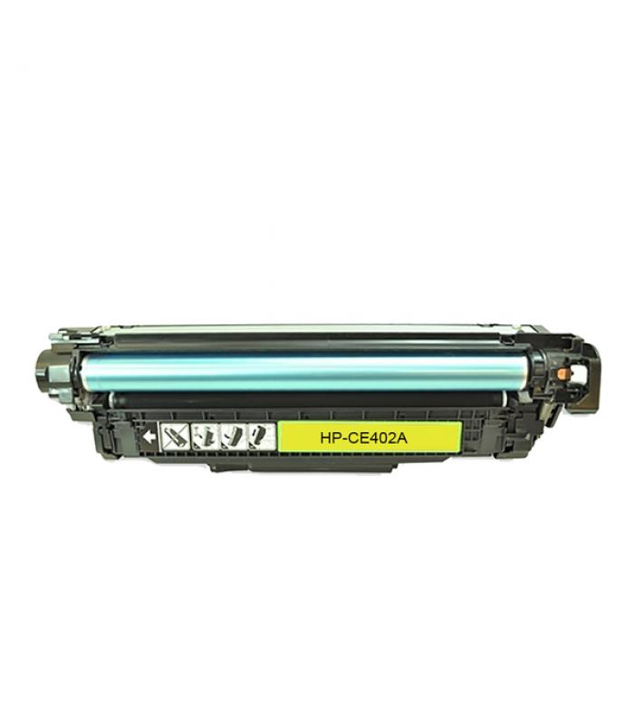 Съвместима тонер касета HP CE402A YELLOW (507A)
