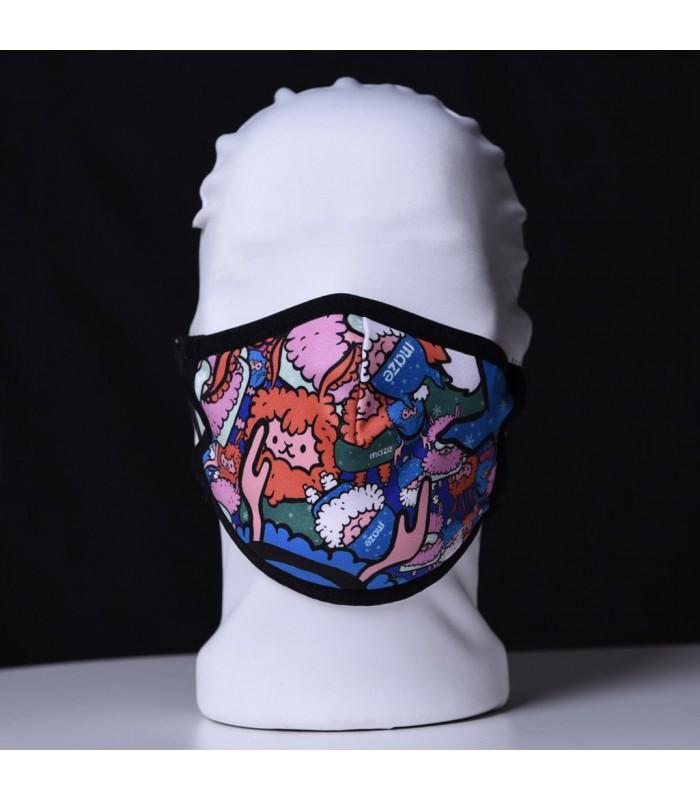 Висококачествена дизайнерска детска трипластова защитна маска за многократна употреба SHEEPS