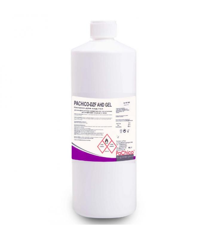 PACHICO Дезинфекциращ препарат за ръце и кожа AHD GEL, гел, професионален, 1 L