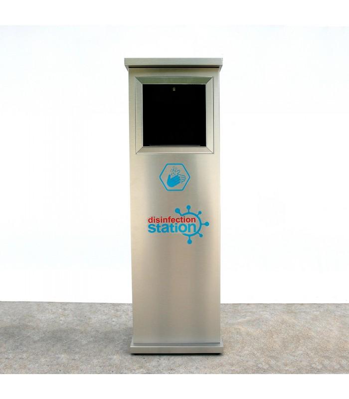 Безконтактна автоматична станция за дезинфекция BOX PRO A