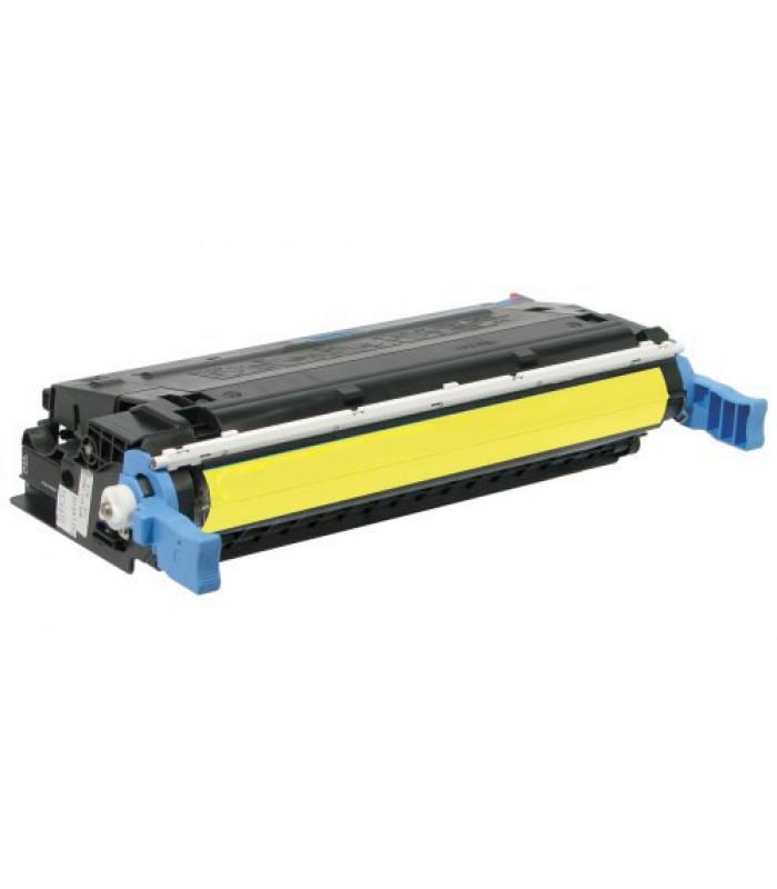 Съвместима тонер касета HP COLOR LASER JET 4600 - C9722A YELLOW