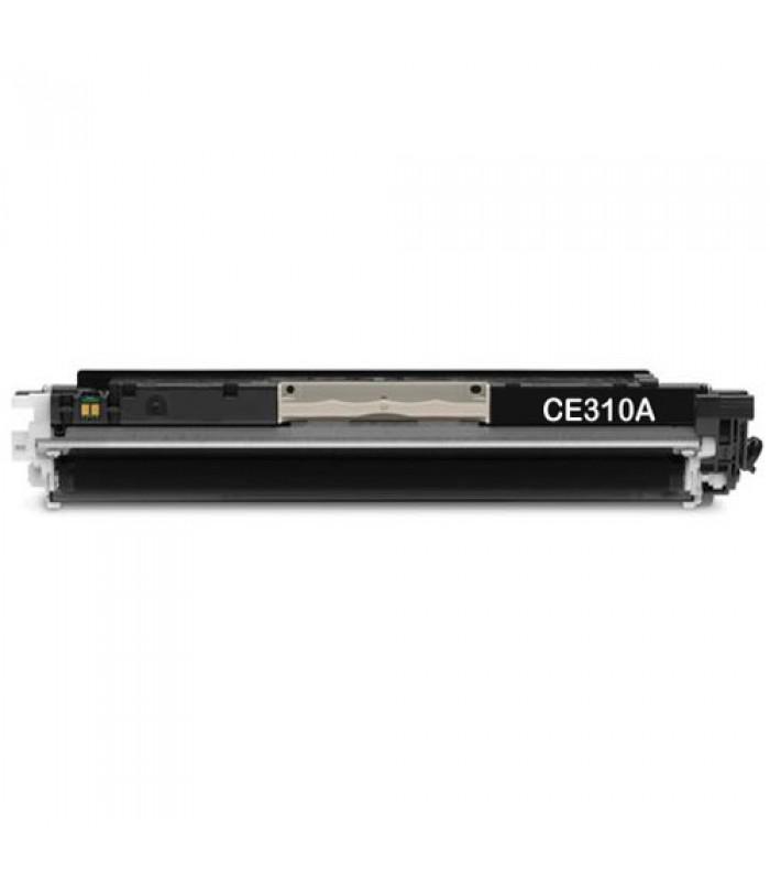 Съвместима тонер касета HP CE310A TONER BLACK (126A)