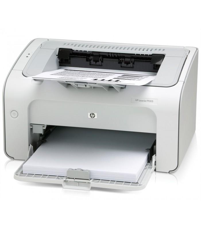 Принтер HP LASERJET P1005 Използва тонер касета HP CB435A