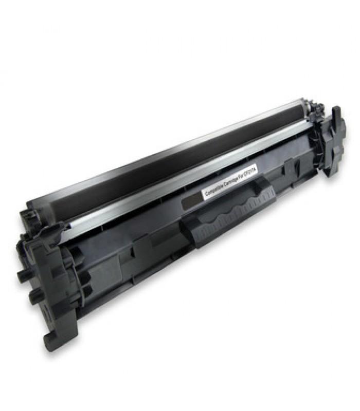 Съвместима тонер касета HP CF217H с чип