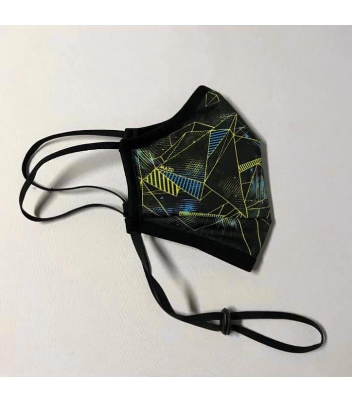 Висококачествена дизайнерска трипластова защитна маска за многократна употреба GEOMETRIC