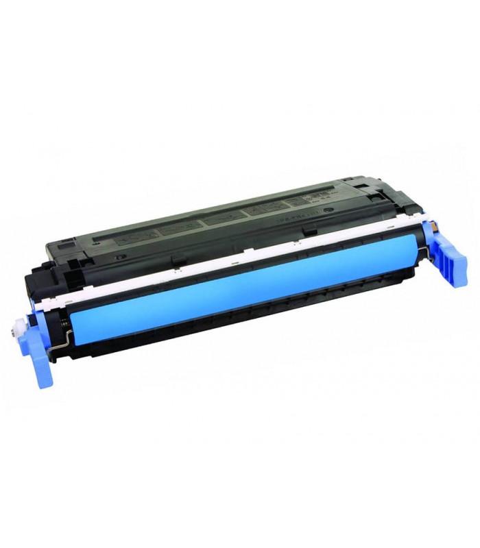 Съвместима тонер касета HP COLOR LASER JET 4600 - C9721A CYAN