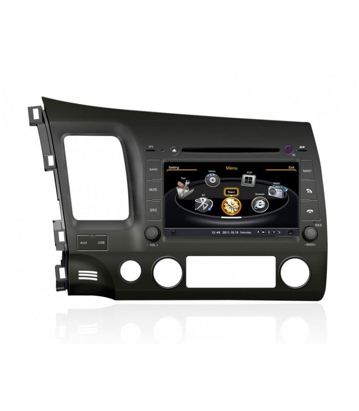 Мултимедийна система MEDIACAR MC-J511F за HONDA CIVIC (2006-2011)