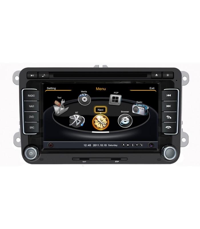 Мултимедийна система MEDIACAR MC-J551F за VW GOLF(MK5,6)(2003-2010), POLO(MK5)2010-2011, PASSAT(MK6)(2006-2011)