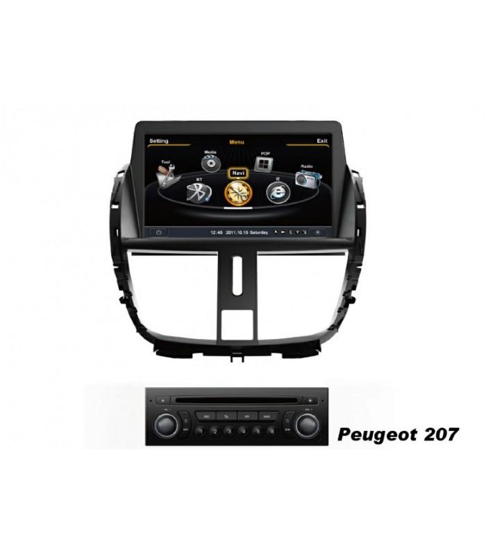 Мултимедийна система MEDIACARMC-L358F за PEUGEOT 207 (2009-2013)