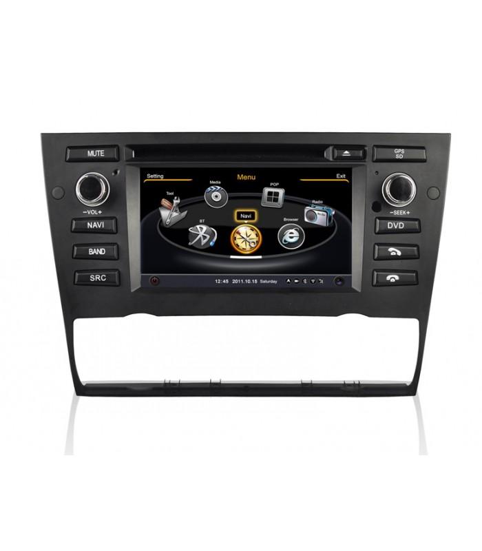 Мултимедийна система MEDIACAR MC-J560F за BMW E90/E91/E92/93(2005-2012)(AUTOMATIC AIR-CONDITION)