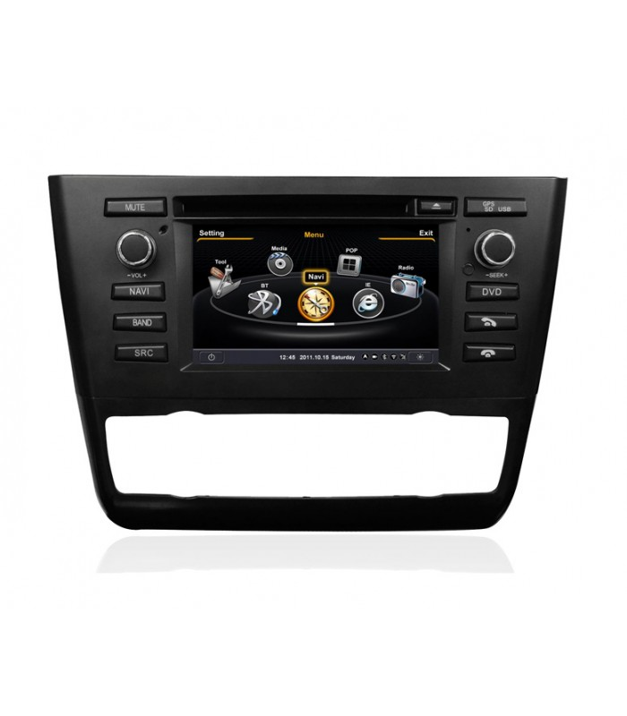 Мултимедийна система MEDIACAR MC-J485F-3 за BMW E81,E82,E88(2004-2012)