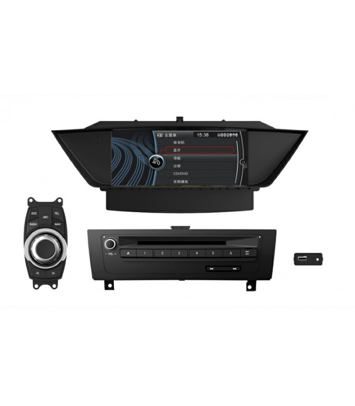 Мултимедийна система MEDIACAR MC-J346F за BMW X1(E84)
