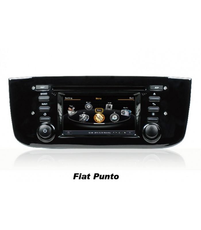 Мултимедийна система MEDIACAR MC-J391F за FIAT PUNTO
