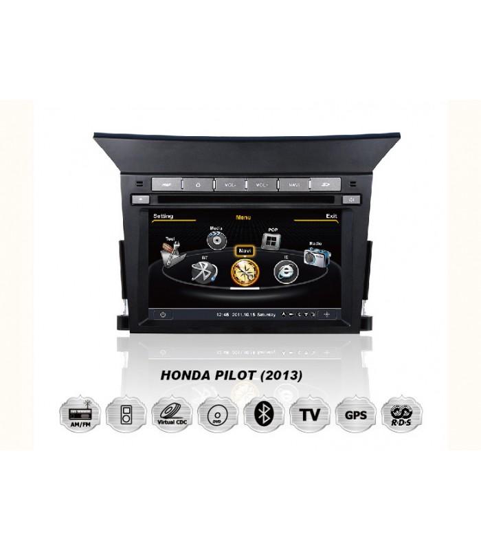 Мултимедийна система MEDIACAR MC-J231F за HONDA PILOT(2013)
