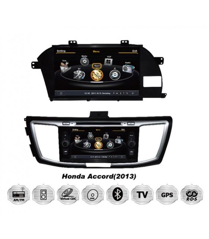 Мултимедийна система MEDIACAR MC-J393F за HONDA ACCORD(2013)