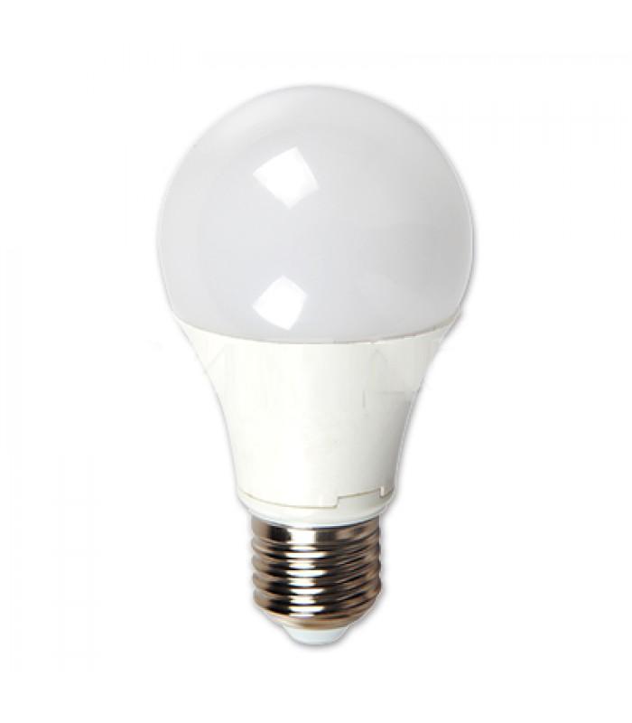 LED Крушка - 5W E27 A60 Термо Пластик 4500K