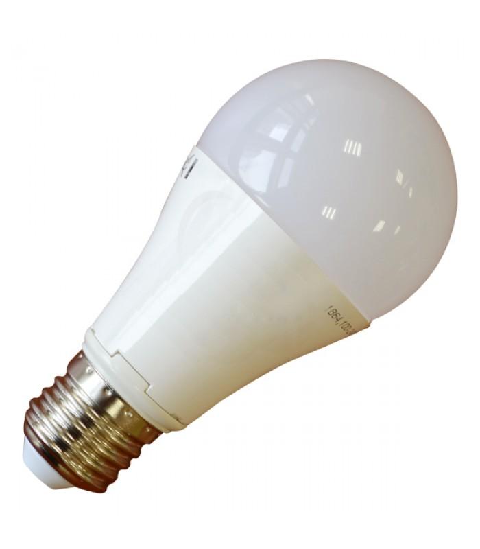 LED Крушка - 12W E27 A60 Термо Пластик 4500K