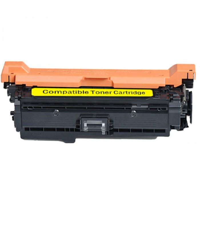 Съвместима тонер касета HP CE262A YELLOW