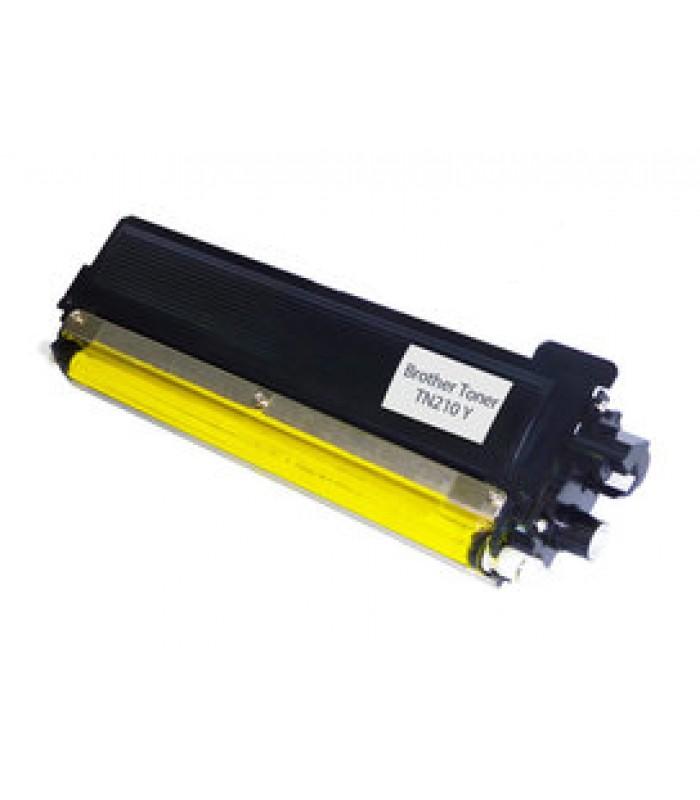 Съвместима тонер касета BROTHER TN230 / TN210 YELLOW