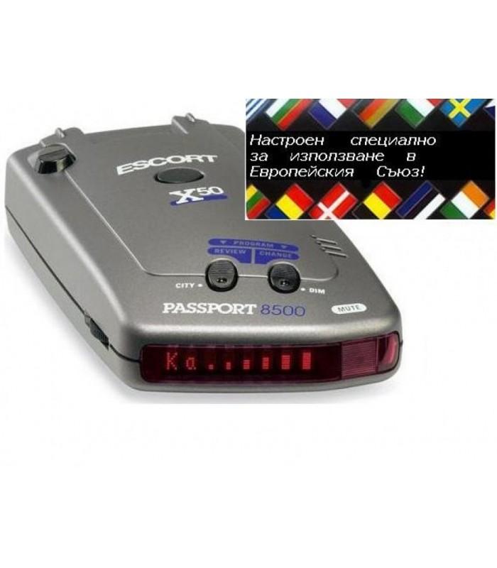 Радар детектор ESCORT PASSPORT 8500X50 EURO