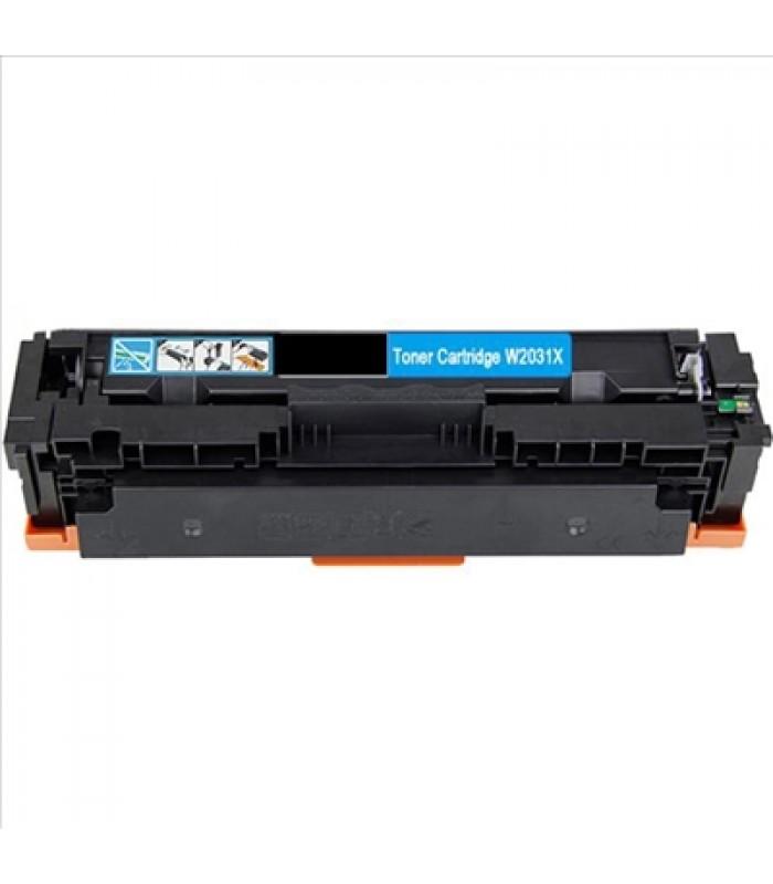 Съвместима тонер касета HP CF415X / W2030X CYAN
